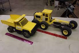 100 Steel Tonka Trucks Pair Of Plastic And Metal Toys