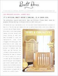 Bratt Decor Crib Skirt by Bratt Decor News Articles Page 1