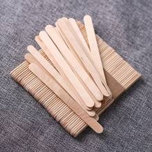 Multifunction50pcs Popsicle Sticks Kids Handwork Art Crafts Ice Cream Cake Tools DIY Rainbow Wooden