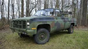 1986 Chevy Military Pick Up, Military Pickup Trucks For Sale ...