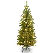 Pre Lit Pencil Cashmere Christmas Tree by Buy The 4 5 Ft Pre Lit Kingswood Fir Pencil Artificial Christmas