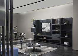 design wandschrank regal wohnzimmer holz schränke vitrine wand regale italy neu