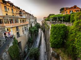 100 Houses In Sorrento Pictures Italy Crag Staircase Roads Cities