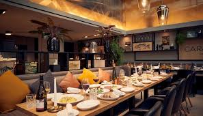 restaurant und bar in amsterdam park plaza