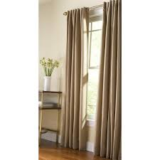 Heat Insulating Curtain Liner by Martha Stewart Living Semi Opaque Monk Cloth Thermal Tweed Back