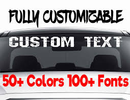 Personalized Decal Stickers 2 X Custom Personalised Vinyl Car Or Van ... Custom Truck Stickers Set Of 18 Gatormedia How To Install New Hood Decals Camaro Ss W Youtube Semitruck Truck Trailer Lettering Nonine Designs Vehicle Signage Id Signs Car Door Design Semi For Back Window American Flag Roof Wrap 48 X 74 Matte Black Other Colors Vinyl Collection Car Printed And Cut Logos Dania Beach Star Wraps Goin Muddin Sticker Us Tees