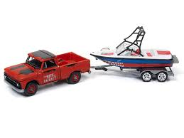 Amazon.com: Johnny Lightning JLBT004A-1965CHEVROLET-RED 1965 ...