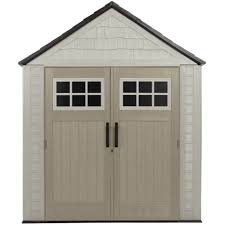 100 rubbermaid roughneck gable storage shed assembly