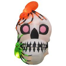 Halloween Airblown Inflatable Lawn Decorations by Halloween Inflatables Outdoor Halloween Decorations The Home Depot