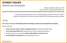 7 Resume Summary Statement Examples