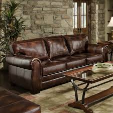 Wayfair Soho Leather Sofa by Endearing Simmons Leather Sofa With Astoria Grand Simmons