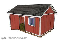 10x20 Shed Plans With Loft by 12x20 Shed Plans Myoutdoorplans Free Woodworking Plans And