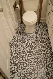 how to paint an linoleum floor breezeway bath and guest bath