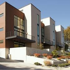 100 Contemporary Townhouse Design Seattle WA Modern Townhouse Exterior