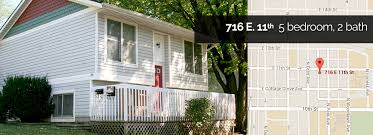 5 Bedroom House For Rent by Elkins Apartments Rent Houses Apartments Bloomington In