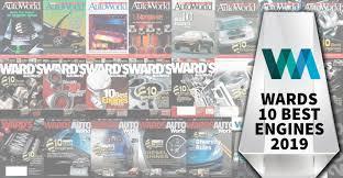 2019 Wards 10 Best Engines | Gasoline, Diesel, Electrification ...