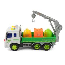100 Rubbish Truck 116 Recycling S Sanitation Lorry Cars Light Sound