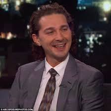 Sofa King Snl Shia Labeouf by Shia Labeouf Swings By Jimmy Kimmel Live And Is Gifted