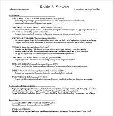 One Page Resume PDF
