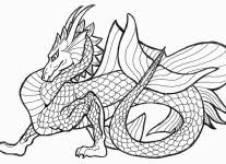 Free Printable Coloring Page Dragon 16 In Download Pages With