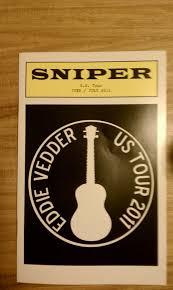 Eddie Vedder No Ceiling by Eddie Vedder Live In Seattle