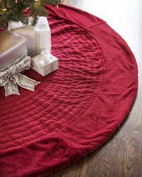 72 Inch Christmas Tree Skirt Pattern by Berkshire Quilted Tree Skirt Balsam Hill