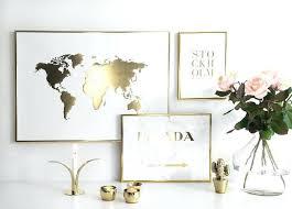 weiß und gold zimmer ideen dekoration ideen goldenes