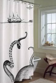 Kraken shower curtain It s from the rum pany which is kind of