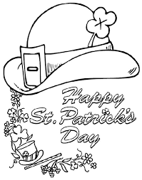 Paddys Derby Coloring Page