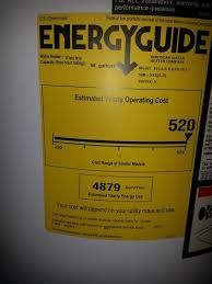 1 Electric Water Heater 2 Energy Guide For