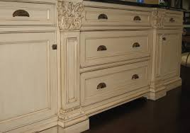 Babi Italia Dresser Tea Stain by Hand Painted And Distressed Kitchen Cabinetry Traditional