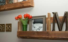 Shelves Made Of Pallet