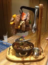 le chalet savoyard rue de charonne la potence pour les de viandes portion pour 2