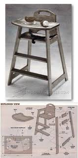 Children's Highchair Plans - Children's Furniture Plans And ... Fniture Oak Bar Stools Target For Inspiring Unique Dafer Next Wooden Doll High Chair Plans High Chair Plans Childrens And Glass End Table Lamps Height Top Makeover Set Modern Diy Rocking Horse Desk Download Steel Woodarchivist Gorgeous Design Living Room Back Chairs Rooms Woodworking Hi Small Wood Projects Baby Kids Airchilds