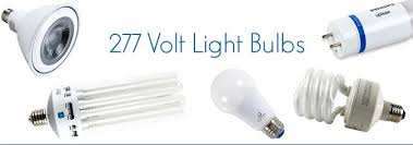 the light source why 277 volts for lighting bulbs