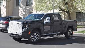 100 Gmc Semi Trucks 2020 GMC Sierra Denali 2500 HD Spied With LuxuryLevel Upgrades