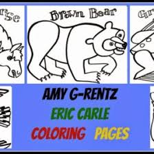 Coloring Pages Free Of Eric Carle Blue Horse Page