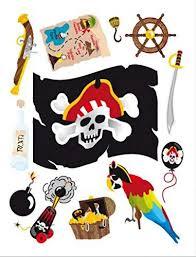 1art1 piraten flagge papagei schatzkarte wand
