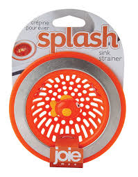 Install Sink Strainer Basket by Amazon Com Joie Splash Kitchen Sink Strainer Basket Stainless