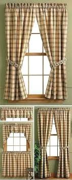 Rustic Cabin Kitchen Curtains Modern Lodge Style Kitchens A Blinds