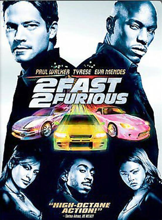 2 Fast 2 Furious Widescreen Edition DVD