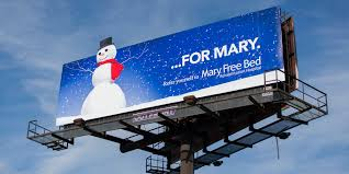 Mary Free Bed Grand Rapids Mi by A Mary Little Billboard Campaign Extra Credit Projects
