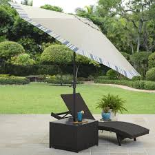 Offset Rectangular Patio Umbrellas by Rectangular Patio Umbrella With Solar Lights