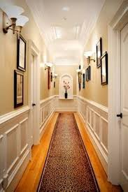 classic style interior lighting design with hallway wall lighting