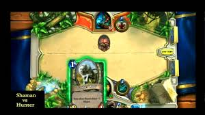 Overload Shaman Deck Frozen Throne by Hearthstone Shaman Fast Aggro Deck Hunter Vs Shaman Youtube