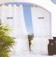 Crushed Voile Curtains Grommet by Indoor U0026 Outdoor Grommet Top Curtains And Panels Thecurtainshop Com
