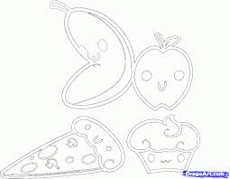 How To Draw Kawaii Food Step 7 Doodles Artwork Pinterest