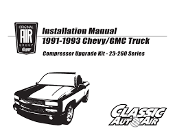 91-93 Chevy/GMC Truck A/C Compressor Upgrade Kit V8 STAGE-1 ... 1991 Chevy Silverado Automatic New Transmission New Air Cditioning Chevrolet S10 Pickup T156 Indy 2017 Truck Dstone7y Flickr With Ls2 Engine Youtube K1500 Fix Steve K Lmc Life Timmy The Truck Safety Stance Gmc Sierra 881992 Instrument Front Winch Bumper Fits Chevygmc K5 Blazer Trucks 731991 Burnout