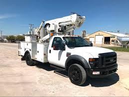 100 North Texas Truck Sales 2010 Ford F550 BUCKET TRUCK City TX Equipment