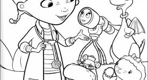 Stylish Doc Mcstuffin Coloring Pages Intended To Really Encourage In Page